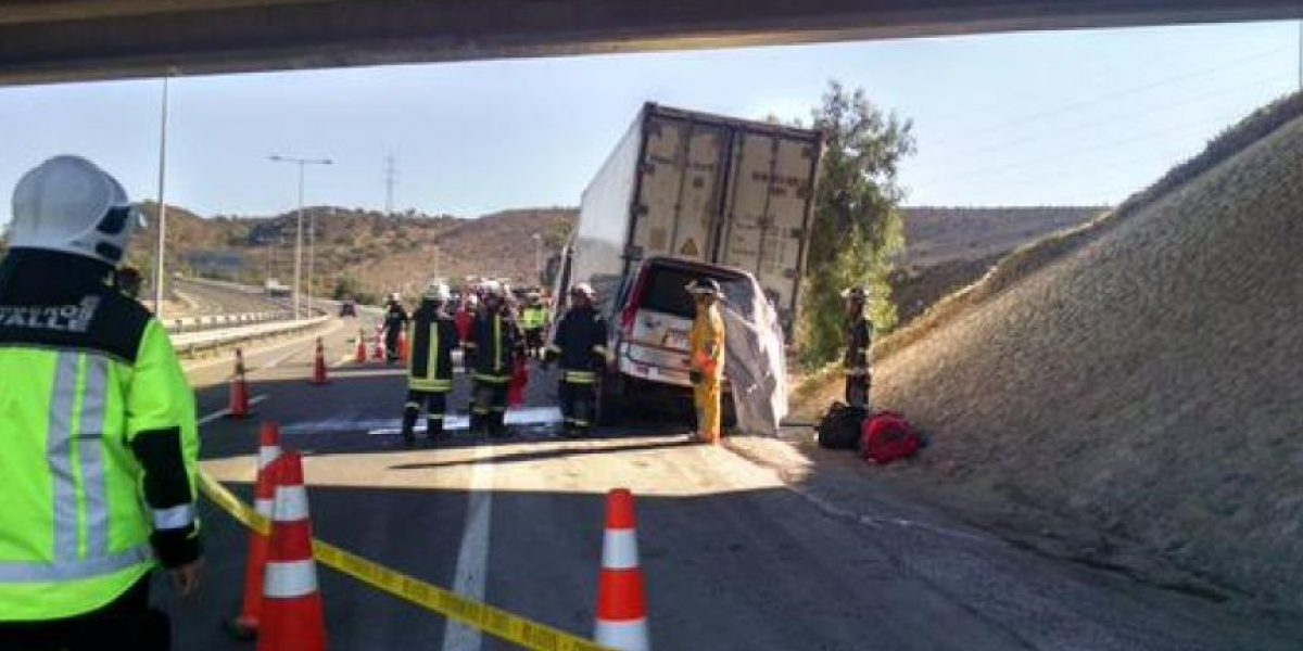 Una familia completa falleció tras accidente automovilístico en la Ruta 5 Norte