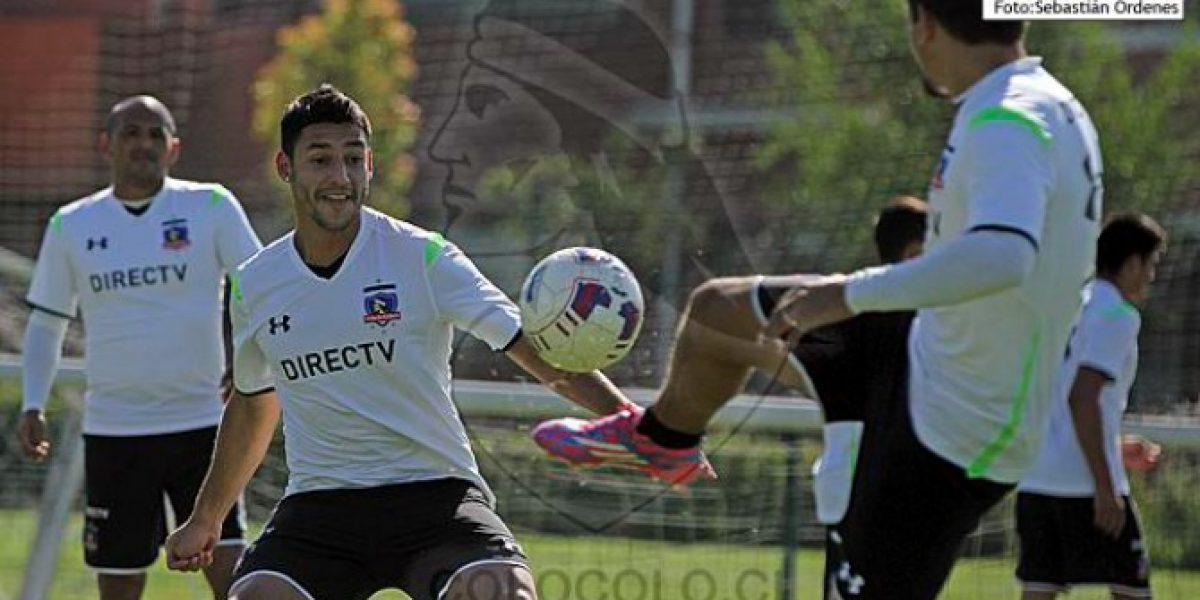 Colo Colo ratificó el arribo de Leonardo Cáceres como tercer refuerzo para 2015