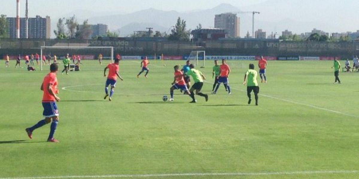 La U derrotó a Palestino con Ubilla y Maxi Rodríguez como protagonistas