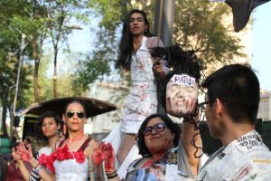 Imágenes de las protestas en Ciudad de México por los 43 estudiantes de Ayotzinapa Foto:Nicolás Corte/ Publimetro México. Imagen Por: