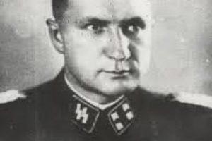Richard Baer, tercer comandante del campo de concentración de Auschwitz Foto:en.auschwitz.org. Imagen Por: