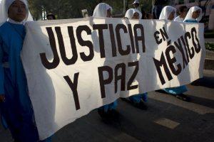 Imágenes de las protestas en Ciudad de México por los 43 estudiantes de Ayotzinapa Foto:AP. Imagen Por: