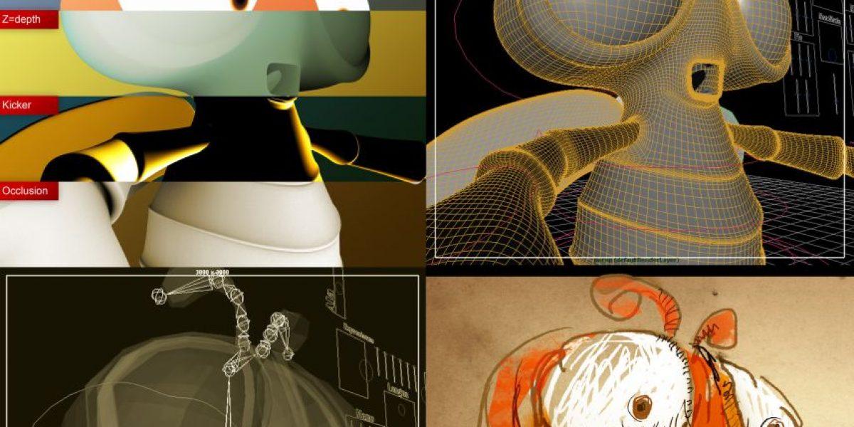Animador Digital:Creador de ilusiones de vida a través de pixeles