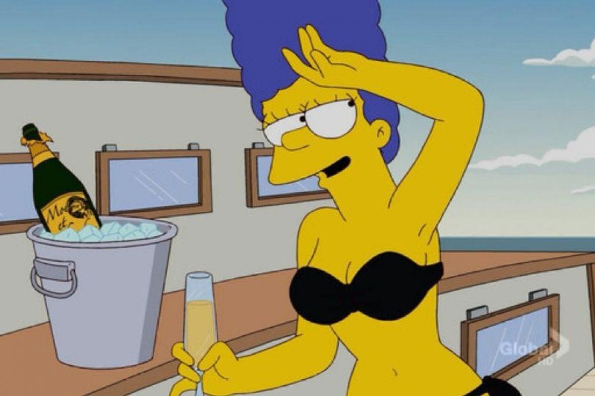 """Marge Simpson, de """"Los Simpson"""" Foto:Fox. Imagen Por:"""