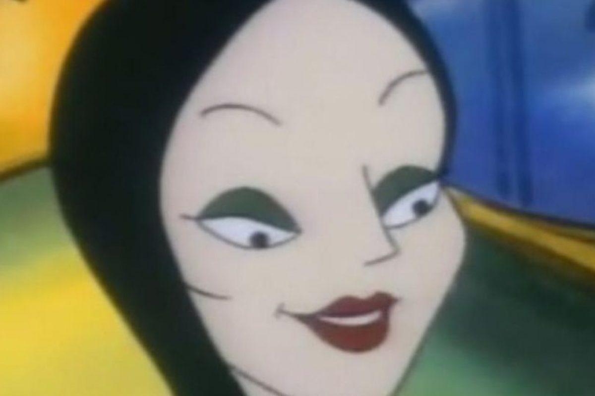 """Morticia Addams, en """"Los Locos Addams"""" Foto:Cartoon Network. Imagen Por:"""