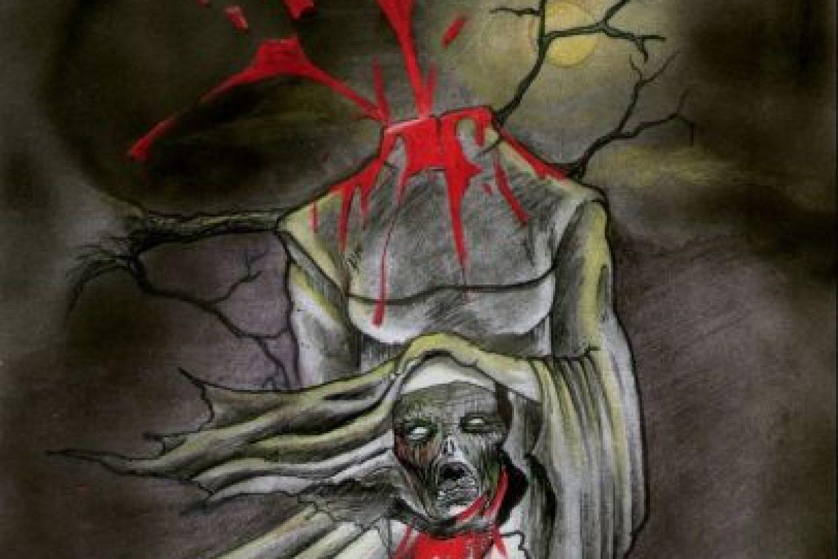 """""""La monja sin cabeza"""" aterrorizó a más de uno en los colegios católicos. Foto:SerenaMitologica. Imagen Por:"""