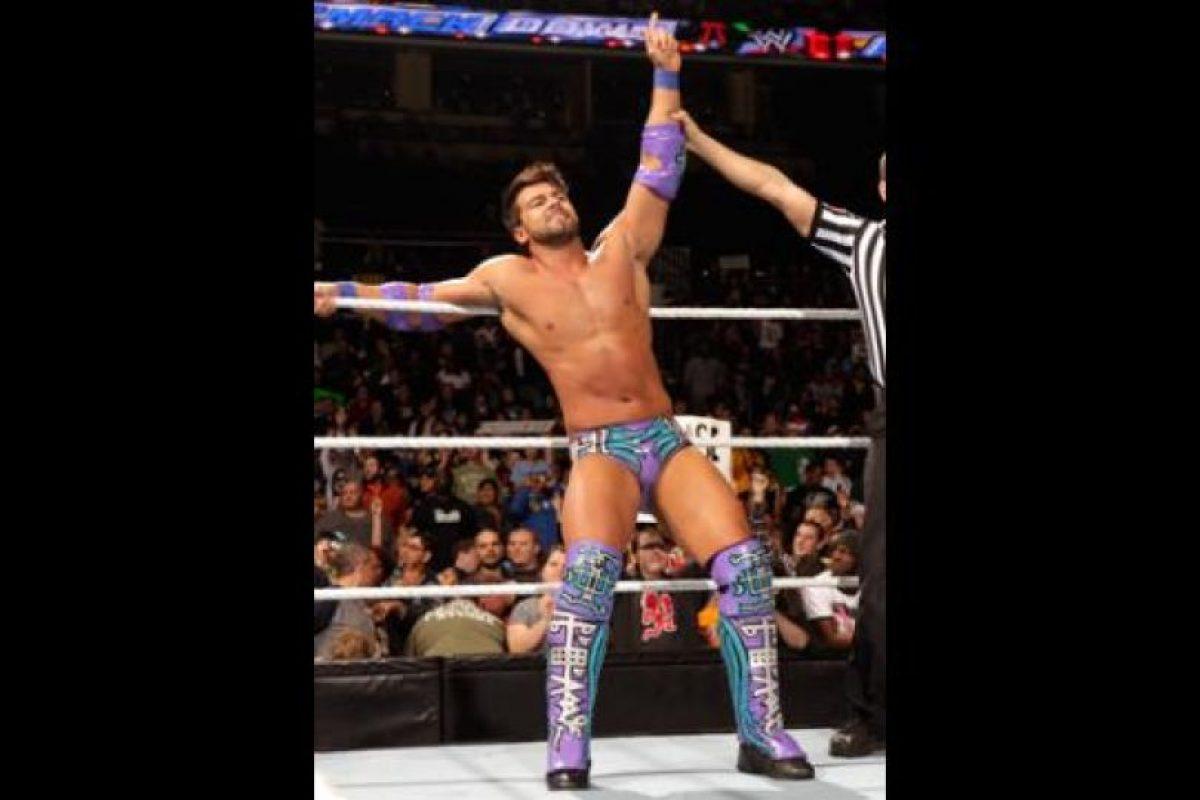 Se trata de Justin Gabriel Foto:WWE. Imagen Por: