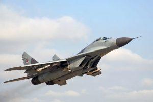 9. MiG-29M. Velocidad máxima de Mach 2,25 (2.756,3 km/h) Foto:Wikimedia. Imagen Por:
