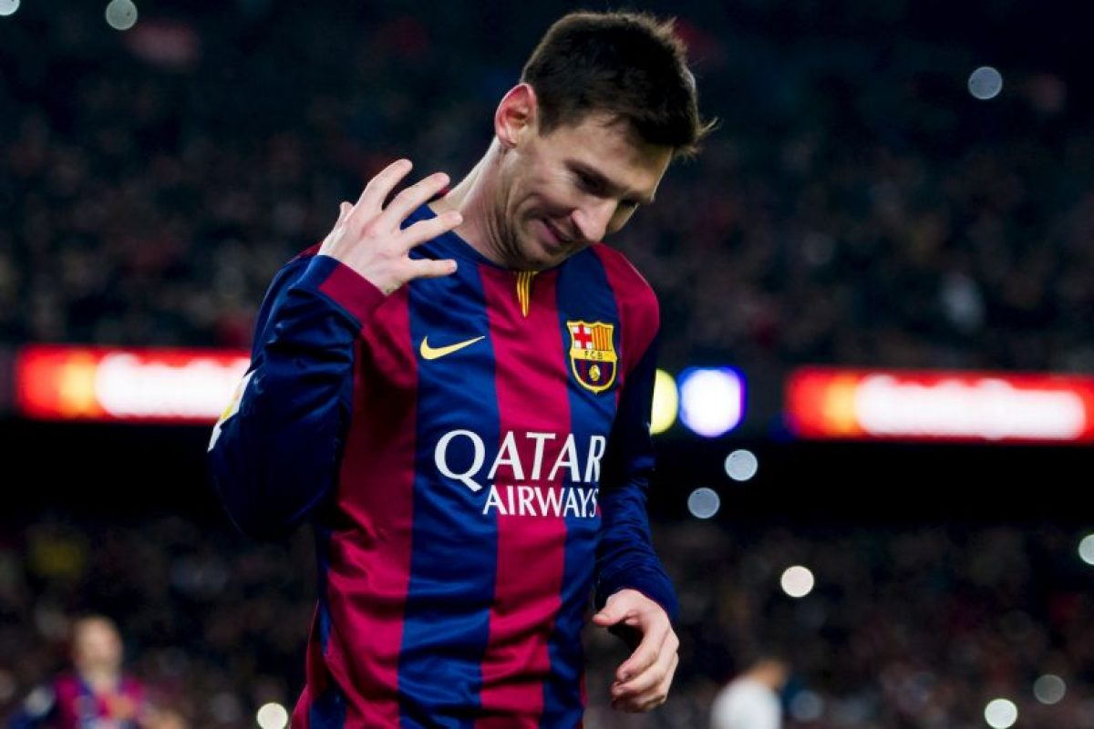 Lionel Messi marcó de penal Foto:Getty. Imagen Por: