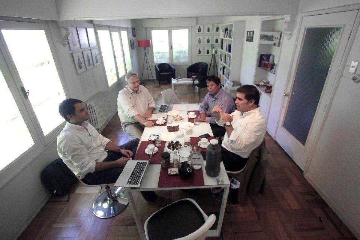 Secretarios generales de los partidos del nuevo referente Foto:Agencia Uno. Imagen Por: