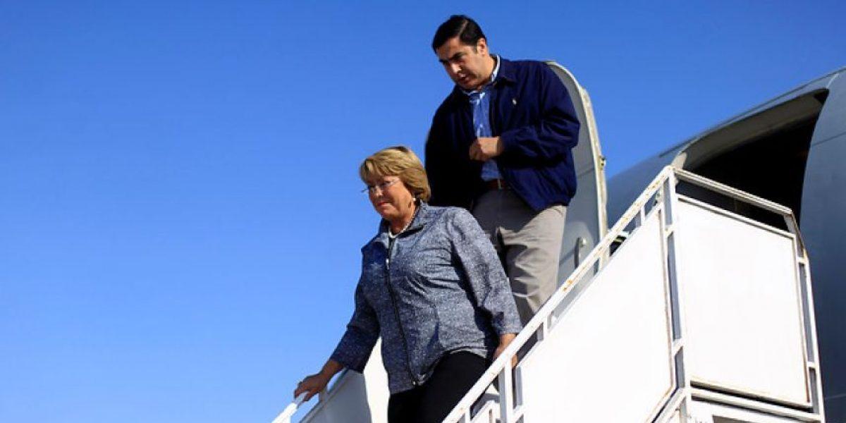 Presidenta Bachelet arribó esta madrugada a Costa Rica para tomar parte en 3ª Cumbre de la Celac