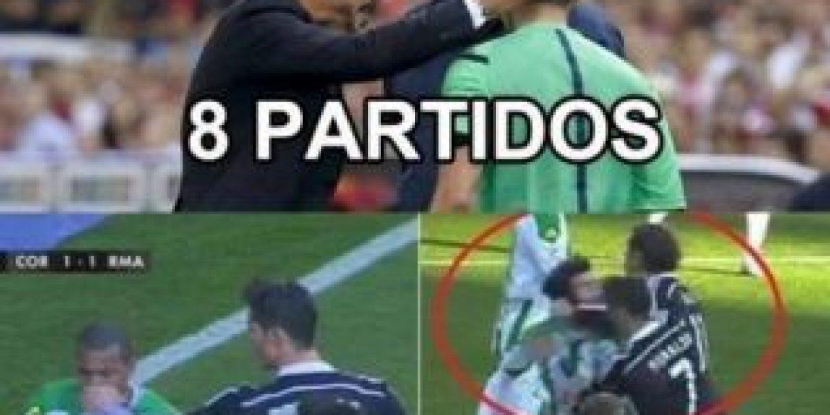 MEMES: Incredulidad ante la sanción a Cristiano Ronaldo tras agresión