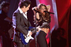 """Alejandro Sanz y Shakira en """"La Tortura"""" Foto:Getty Images. Imagen Por:"""