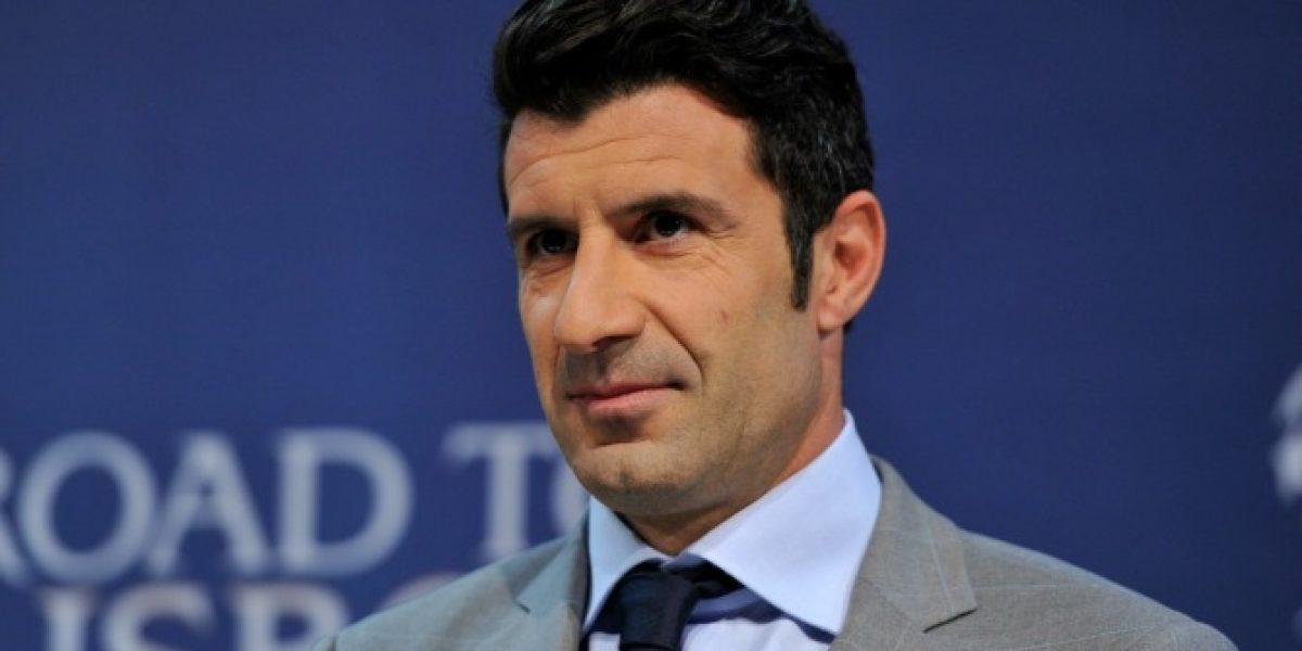 Luis Figo anuncia su candidatura a la presidencia de la FIFA