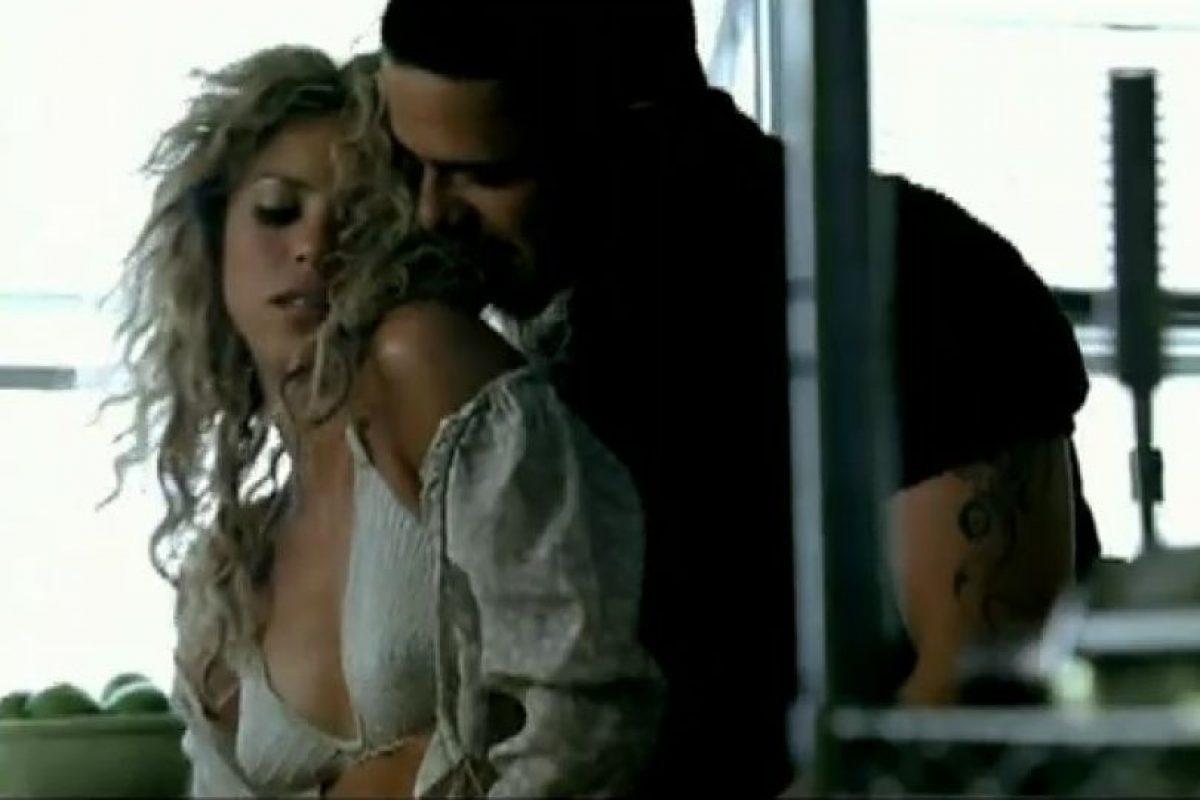 """Alejandro Sanz y Shakira en """"La Tortura"""" Foto:Vimeo. Imagen Por:"""