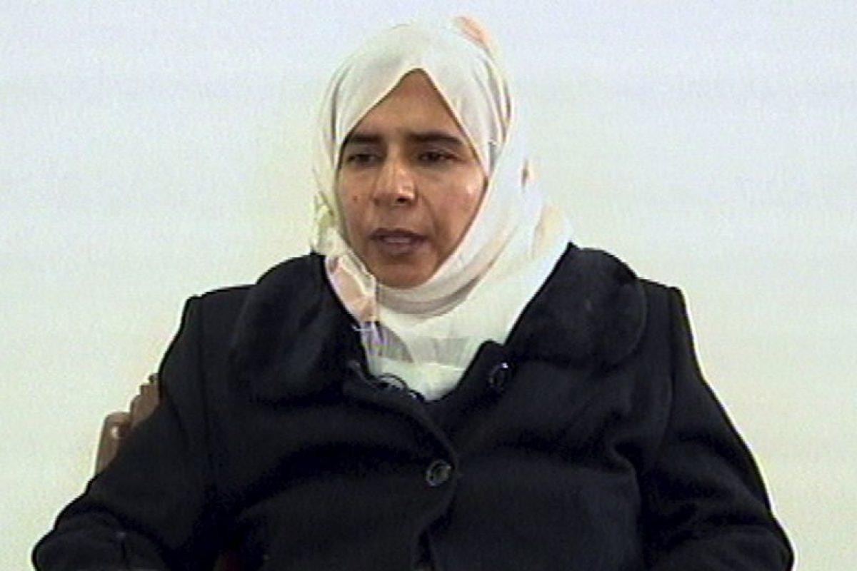 Esta es Sajida al-Rishawa, la mujer que reclama el Estado Islámico. Foto:AP. Imagen Por: