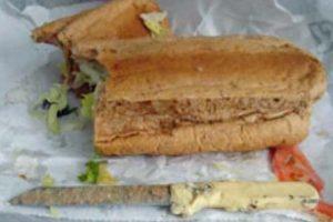 Cuchillo para partir el sandwich Foto:Viralnova. Imagen Por:
