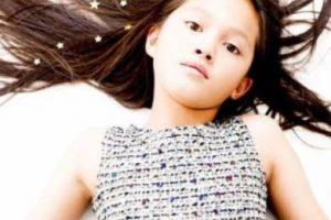 Ella se llama Lily Chee, tiene 11 años. Foto:Vogue. Imagen Por: