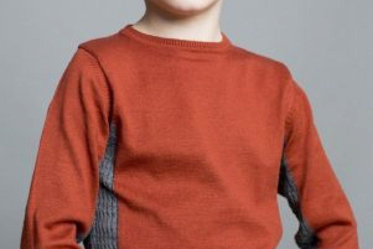 Este niño tiene 7 años. Se llama Julian O' Neill. Foto:Vogue.. Imagen Por: