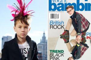Baylor y Hudson Cryer son hermanos. Tienen 10 y 7 años. Foto:Vogue. Imagen Por: