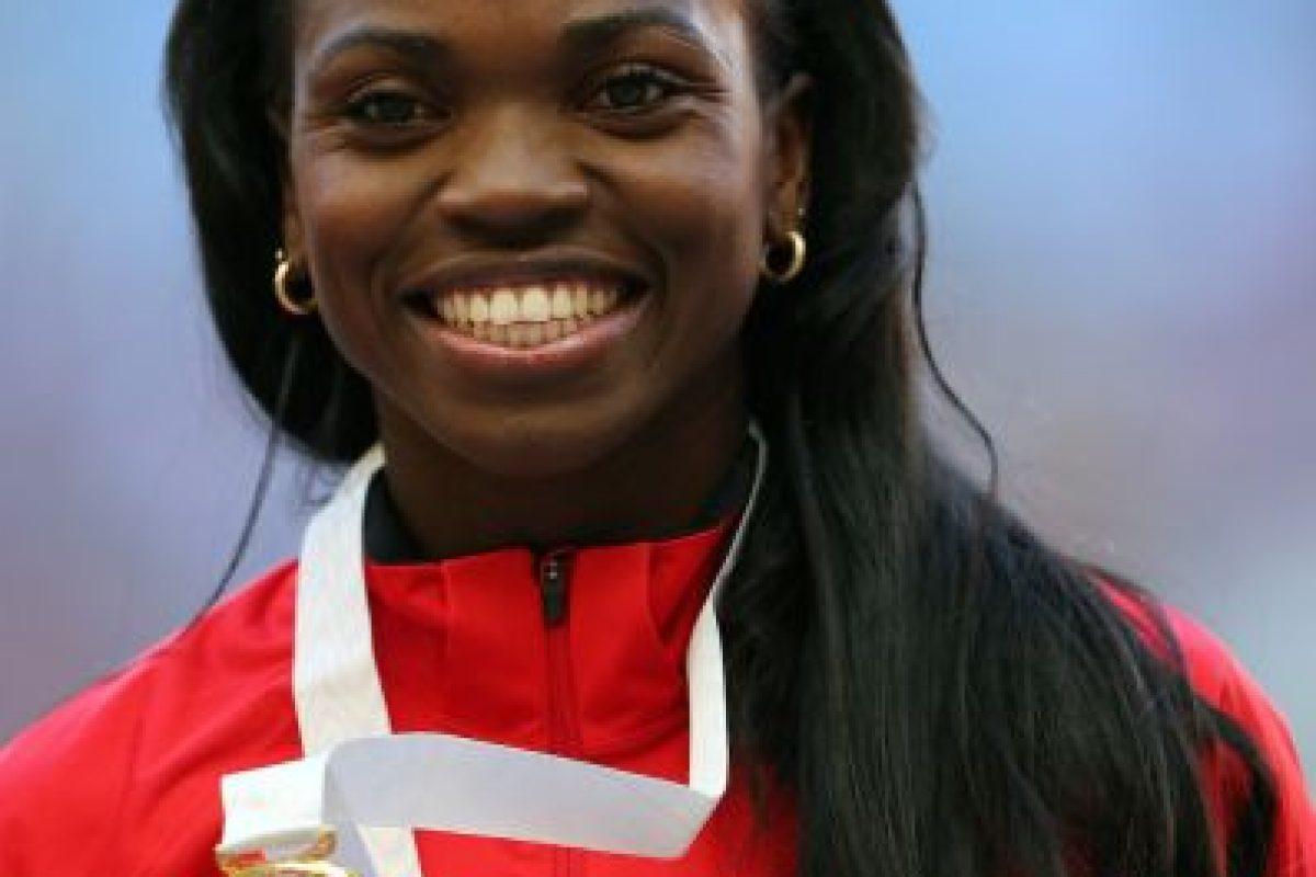 Catherine Ibargüen – Colombia. Medalla de plata en salto triple en Londres 2012. Foto:Getty Images. Imagen Por: