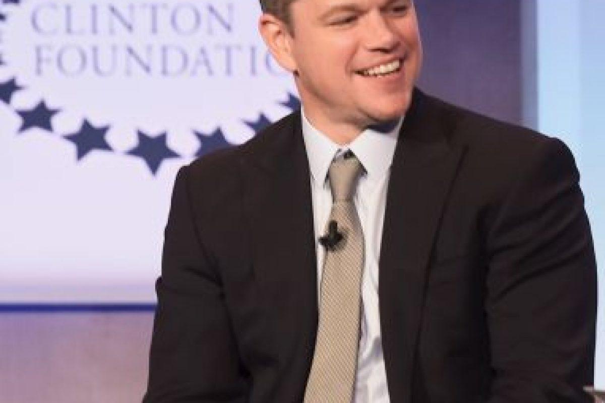 Matt Damon también es seguidor de los Pats Foto:Getty. Imagen Por:
