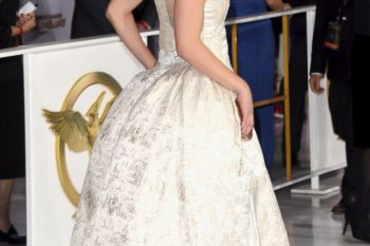 """Jennifer Lawrence ha sido nombrada la mujer más sexy por la revista """"FHM"""" Foto:Getty Images. Imagen Por:"""