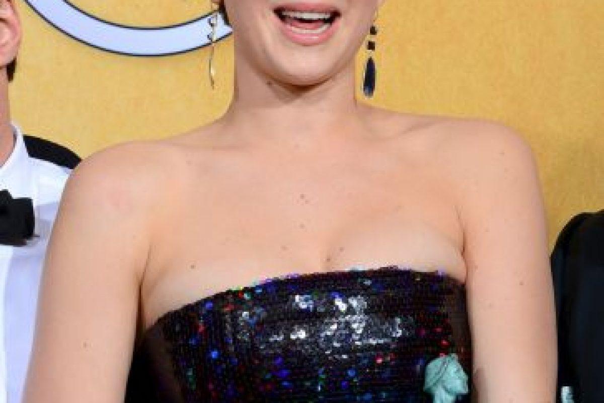 Jennifer Lawrence fue descubierta a los 14 años Foto:Getty Images. Imagen Por: