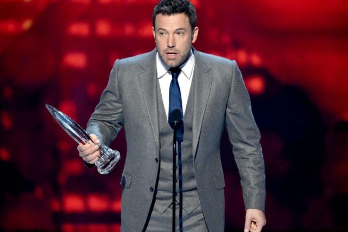 Ben Affleck: El ganador del Oscar también está con Nueva Inglaterra Foto:Getty. Imagen Por:
