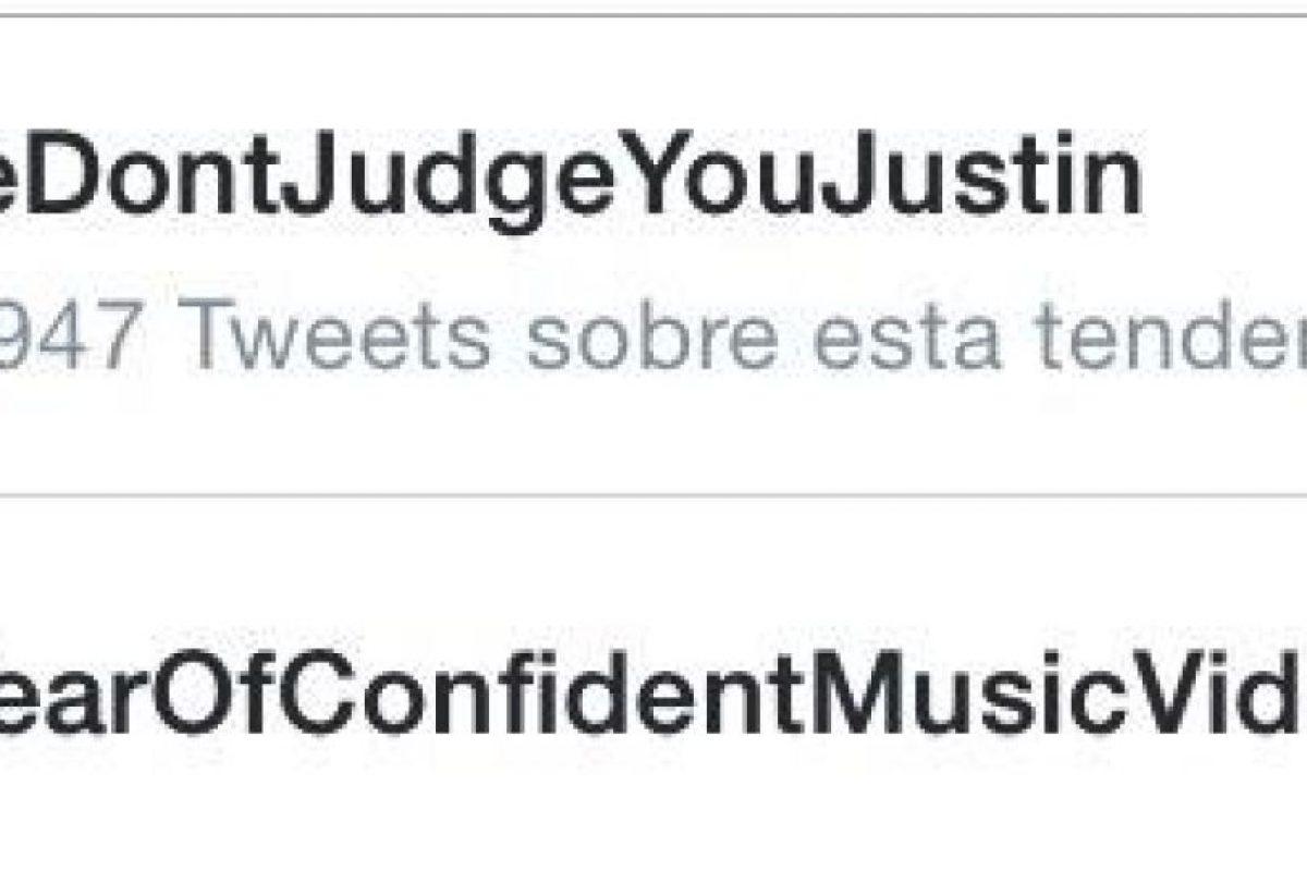 """Después de Justin presentara sus disculpas, las fans crearon el hashtag """"#wedontjudgeyoujustin"""" (Nosotros no te juzgamos Justin) Foto:Twitter. Imagen Por:"""