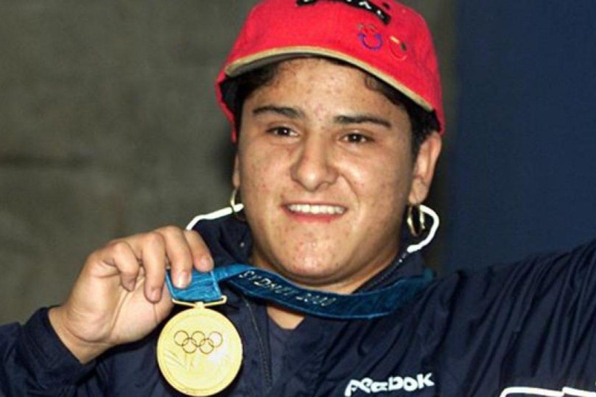 Soraya Jiménez – México. La primera mujer medallista de su país al obtener el oro en halterofilia en Sidney 2000. Foto:Twitter. Imagen Por: