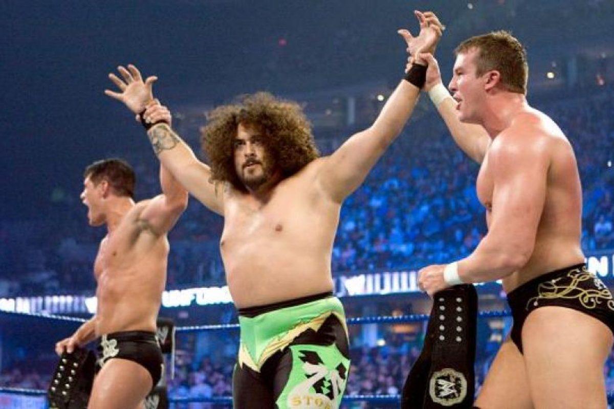 Fue parte de Legacy Foto:WWE. Imagen Por: