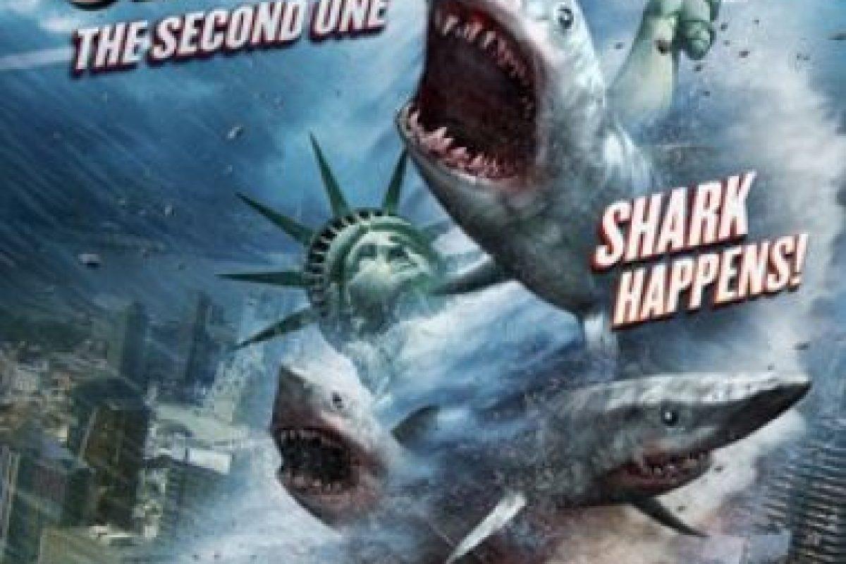 """""""Sharknado 2 – The Second One"""". Disponible a partir del 1 de febrero. Foto:Netflix. Imagen Por:"""