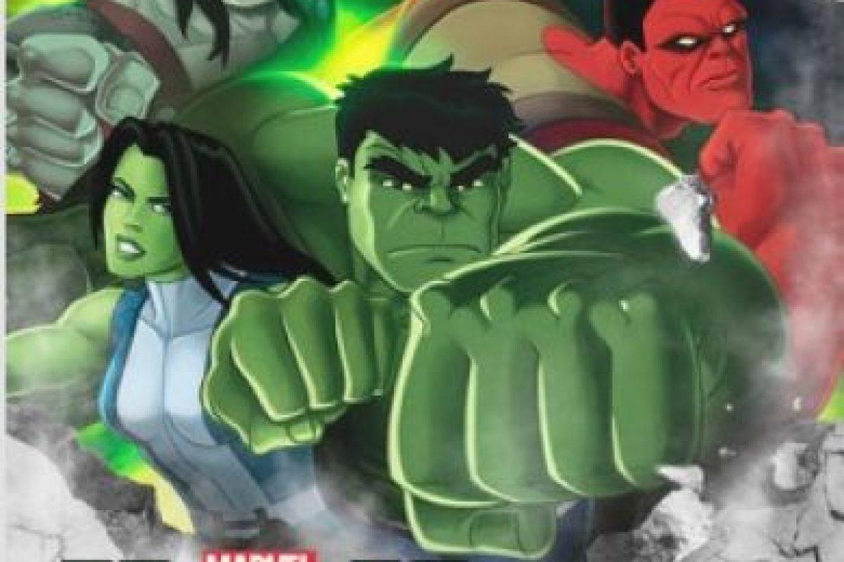 """""""Marvel's Hulk and the Agent's of S.M.A.S.H"""" – Temporada 1. Disponible a partir del 1 de febrero. Foto:Netflix. Imagen Por:"""