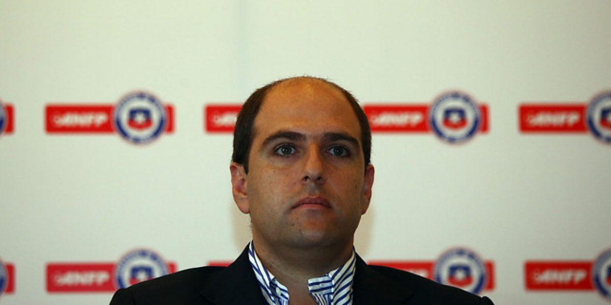 Cristian Varela deja la vicepresidencia de la ANFP en el segundo mandato de Jadue