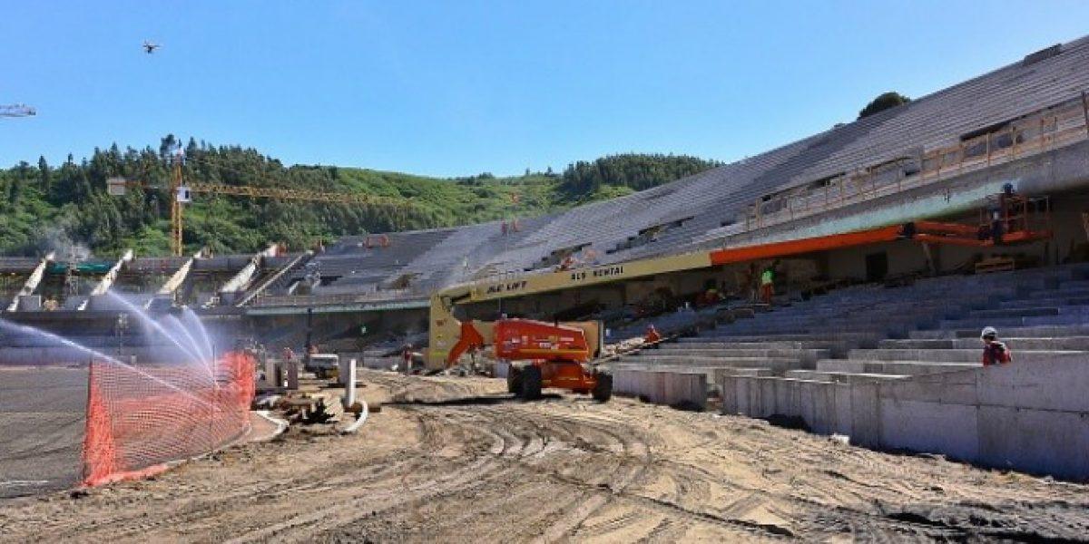 Una belleza: Así quedará el estadio de Concepción para la Copa América