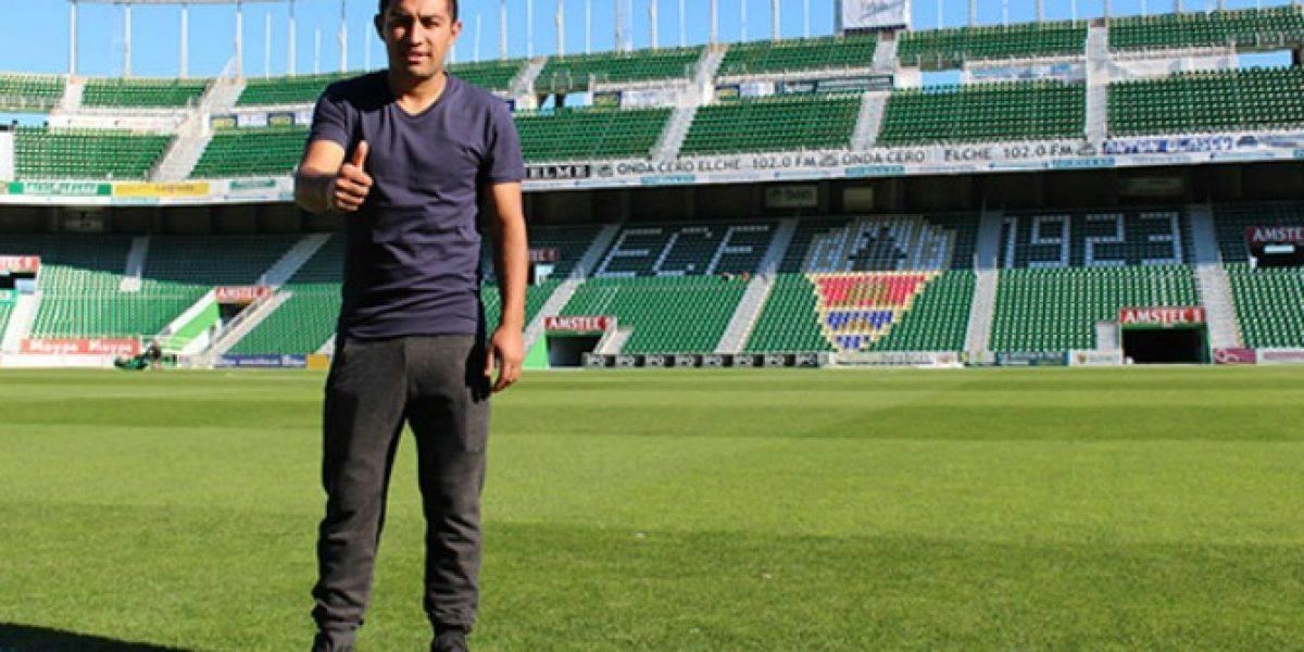 Nicolás Maturana no pudo ser inscrito en Elche y parte a la tercera división de España