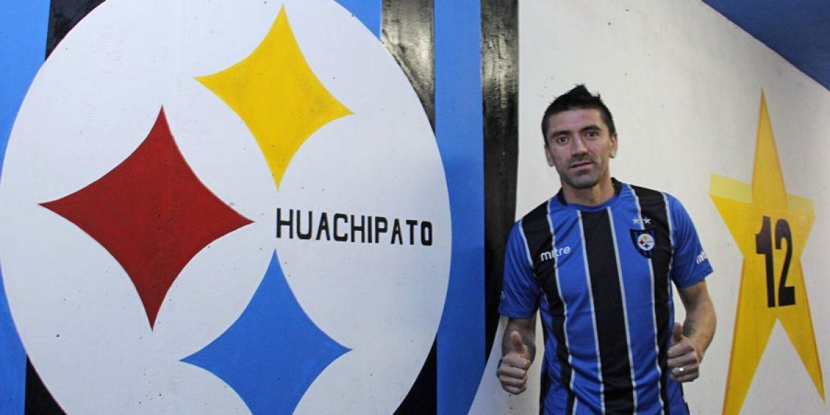 Mancilla llega a pelear un puesto a Huachipato: