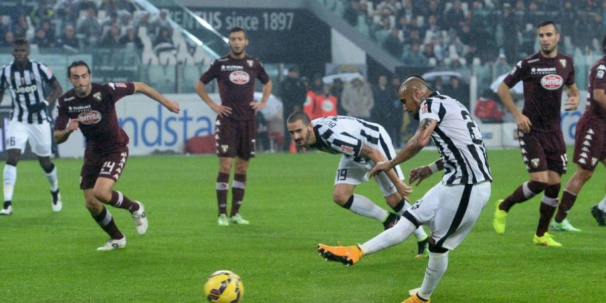 Otra vez la rodilla: En Italia aseguran que Vidal se perdería las próximas dos fechas