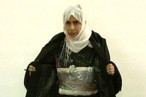 Acusada de intentar detonar una bomba en un hotel. Foto:AP. Imagen Por: