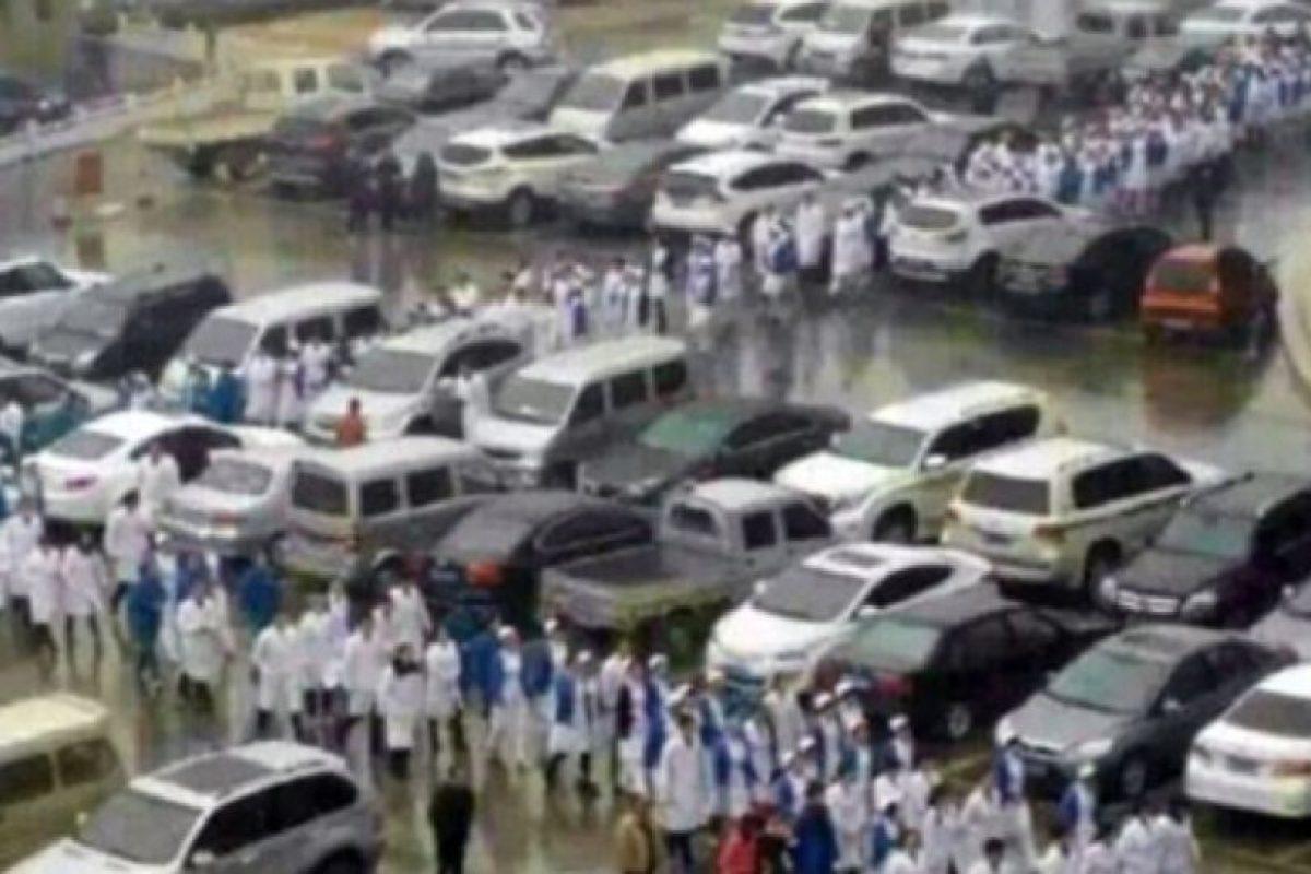 No es el primer caso de violencia en hospitales en China. Foto:Weibo. Imagen Por: