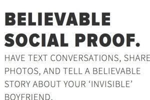 Al inscribirse en la página se podrán recibir mensajes de nuestra pareja virtual en tiempo real. Foto:Invisibleboyfriend.com. Imagen Por: