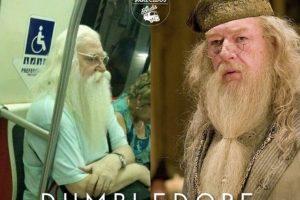 Dumbledore Foto:Parecidos De Bondis/Facebook. Imagen Por: