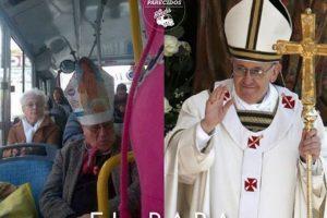 El Papa Francisco Foto:Parecidos De Bondis/Facebook. Imagen Por: