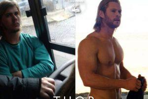 Thor. Foto:Parecidos De Bondis/Facebook. Imagen Por:
