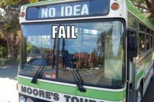 """""""Ni idea"""". ¿Quién podría arriesgarse a subir? Foto:Tumblr.com/tagged/fail- transporte. Imagen Por:"""