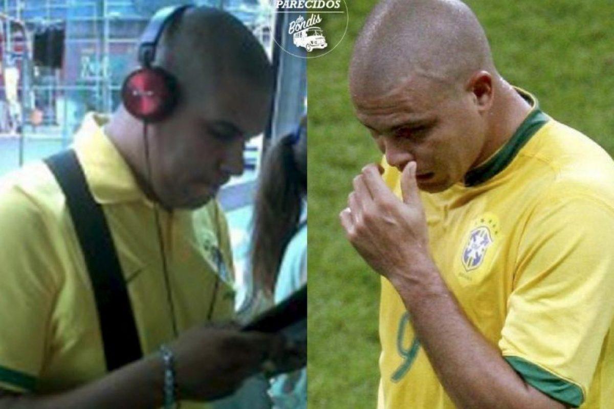 Ronaldo Foto:Parecidos De Bondis/Facebook. Imagen Por: