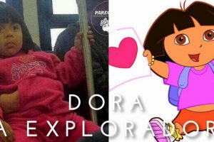 Dora la Exploradora Foto:Parecidos De Bondis/Facebook. Imagen Por: