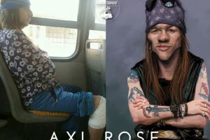 Axl Rose Foto:Parecidos De Bondis/Facebook. Imagen Por: