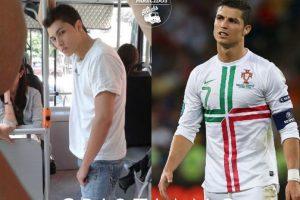 Cristiano Ronaldo Foto:Parecidos De Bondis/Facebook. Imagen Por: